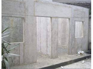 GRC轻质隔墙砌筑步骤
