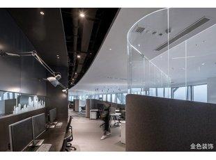 办公室这样装修能整成黑科技的感觉