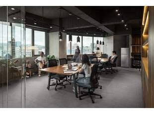 【办公空间】现代简约风格的办公室装修,简约但不简单!