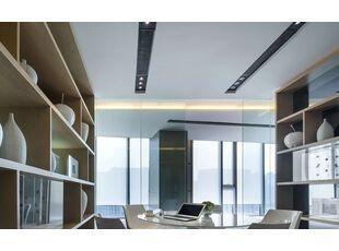 办公室装修设计中的灯光艺术展示