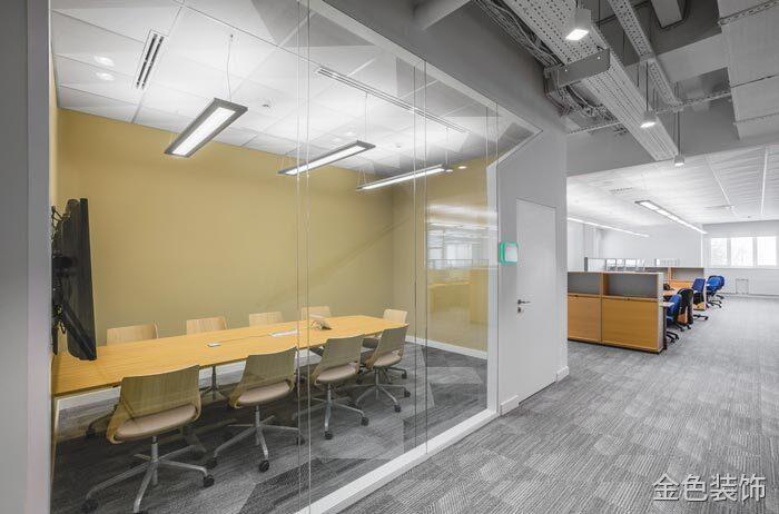 包裝公司辦公室會議室裝修設計案例效果圖