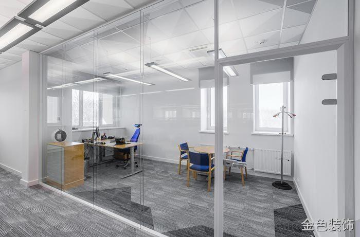 包裝公司總經理辦公室裝修設計案例效果圖