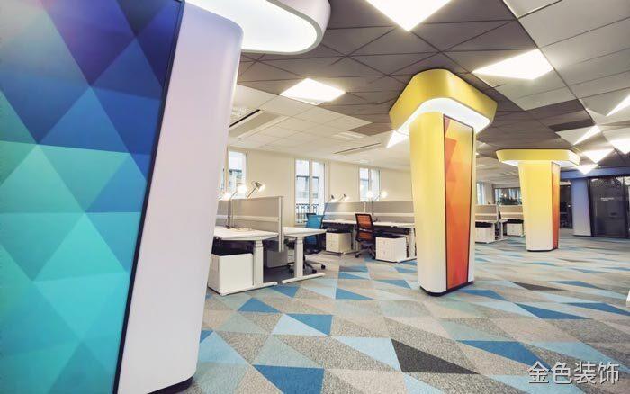 互聯網公司辦公室辦公區域裝修設計案例效果圖
