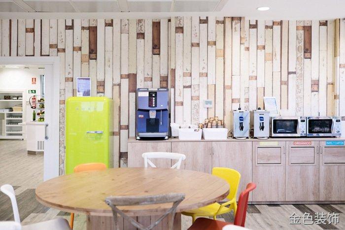 食品公司辦公室茶水間裝修設計效果圖