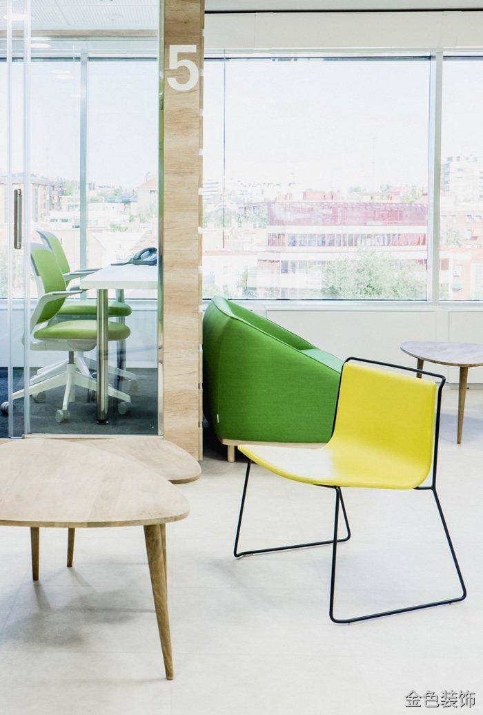 食品公司辦公室休息區裝修設計效果圖
