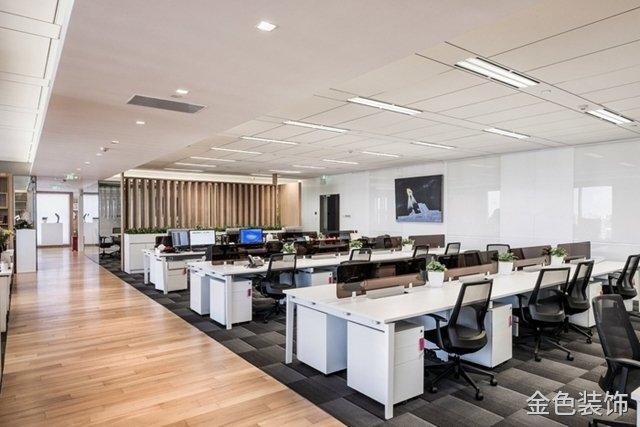 大型現代簡約辦公室裝修設計