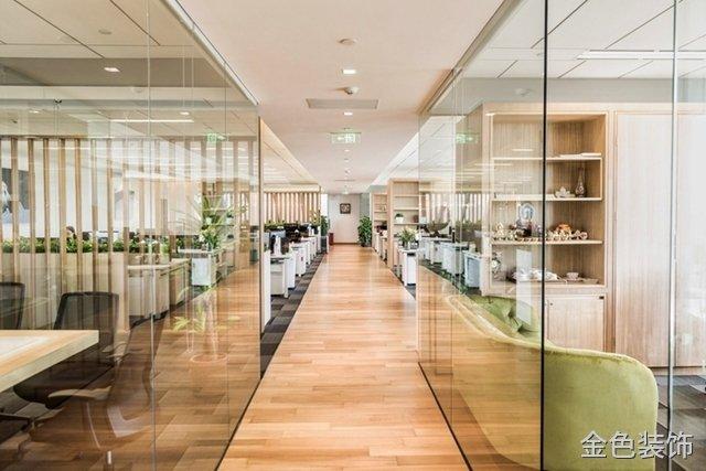 800平大型現代簡約辦公室裝修設計