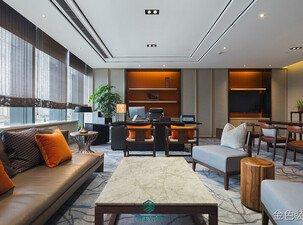 800平米大型现代简约办公室装修设计